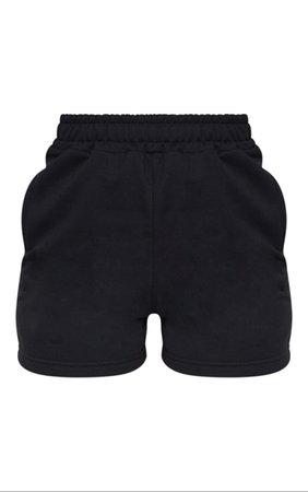 Black Sweat Pocket Shorts | PrettyLittleThing