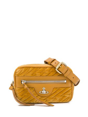 Vivienne Westwood Quilted Orb Belt Bag - Farfetch