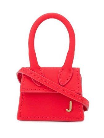 Jacquemus Le Chiquito Mini Bag 194AC01194 Red | Farfetch