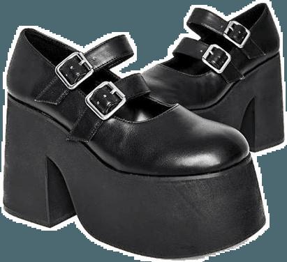 sticker shoes platformboots platformboots boots egirl...
