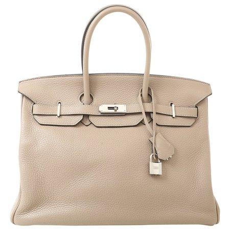 Hermès Handtaschen aus Leder - Beige - 8113849
