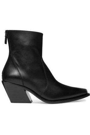 Givenchy   Leather ankle boots   NET-A-PORTER.COM