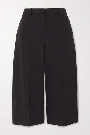 Wool-blend Shorts - Black