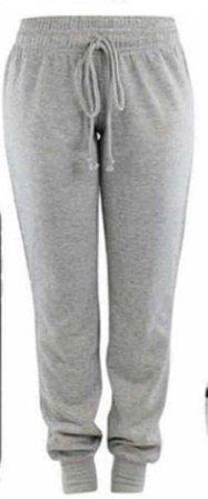 grey joggers