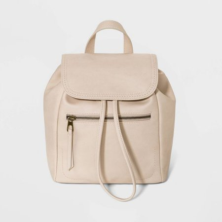 Mini Flap Backpack - Universal Thread™ White : Target