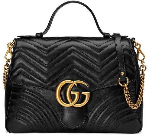 GG Marmont medium top handle bag