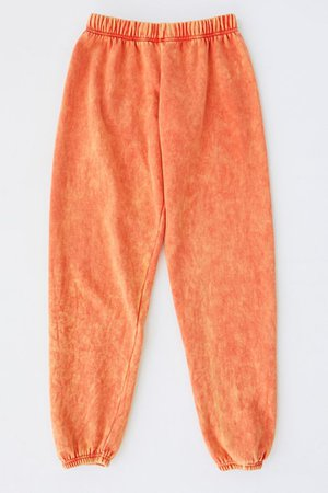 Urban Renewal Recycled Acid Wash Sweatpant   Urban Outfitters