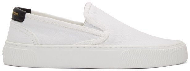 White Venice Slip-On Sneakers