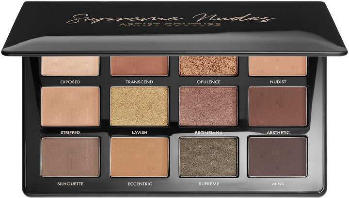 Artist Supreme Nudes and Pressed Pigment Eyeshadow Palette