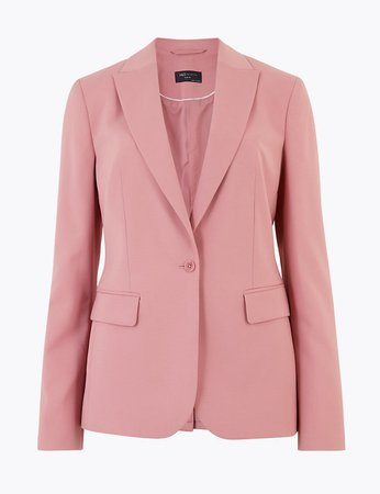 Single Breasted Blazer | M&S Collection | M&S