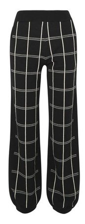 Checked sweatpants by CHLOÉ