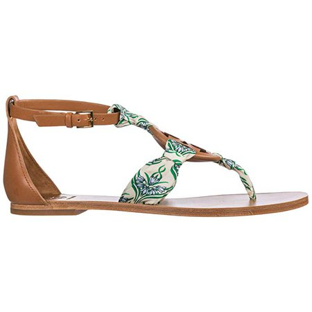 Amazon.com   Tory Burch Women's Miller Scarf Sandal   Flats