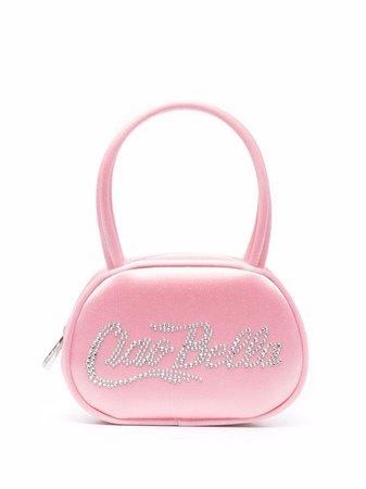 Amina Muaddi Bella crystal-embellished Mini Bag - Farfetch