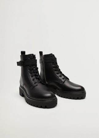 Buckle ankle boots - Women | Mango USA