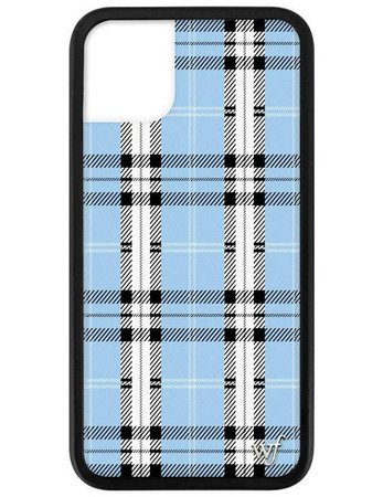 Blue Plaid iPhone 11 Case – Wildflower Cases