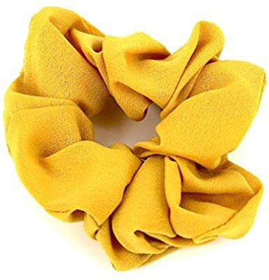 Amazon.com : Hair Accessories Women Girls Simple Pattern Scrunchies for Hair (Mustard Yellow) : Beauty