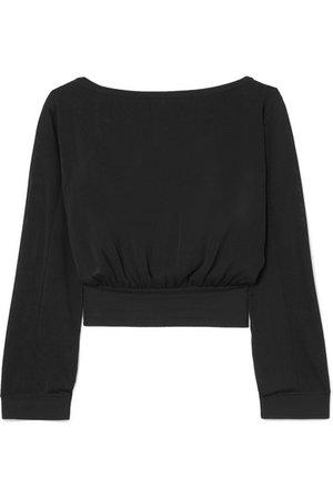 Alaïa   Stretch-knit top   NET-A-PORTER.COM