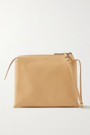Sand Nu Twin mini leather shoulder bag | The Row | NET-A-PORTER