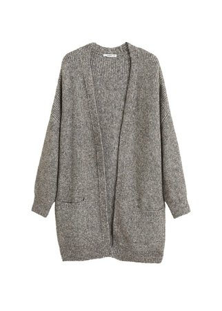 MANGO Long cardigan