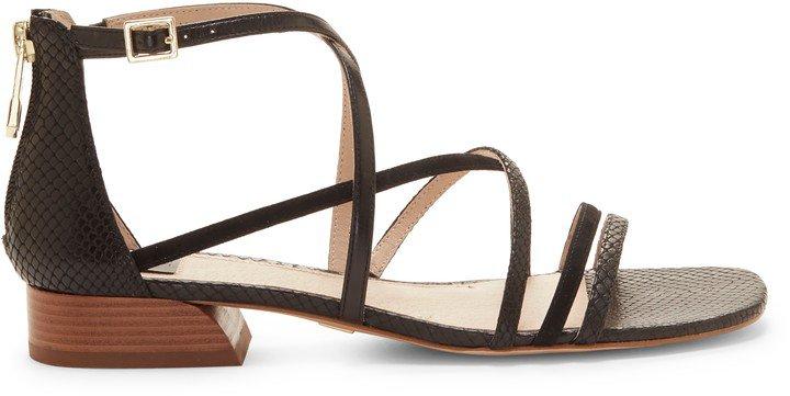 Eleri Crisscross-Strap Sandal
