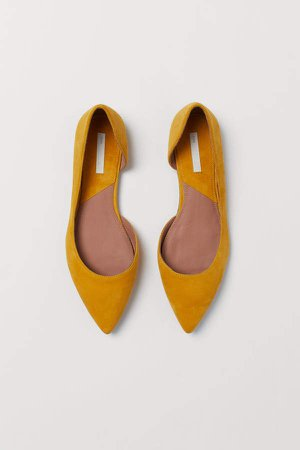 Pointed Flats - Yellow