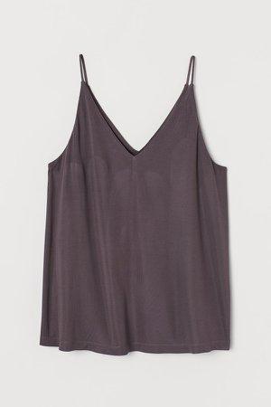 V-neck Camisole Top - Purple