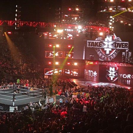 "Corey Saunders on Instagram: ""Unreal atmosphere in here tonight..... #NXTTakeover #NXTToronto #WeAreNXT @wwenxt"""