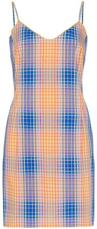 Tawas check mini dress