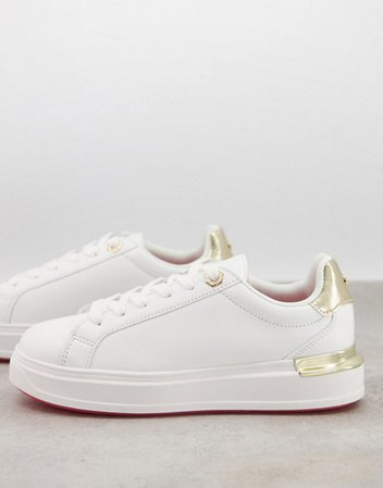 River Island chunky sneakers in white | ASOS