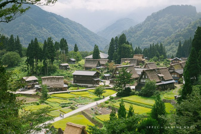 village in the mountains - Google Search