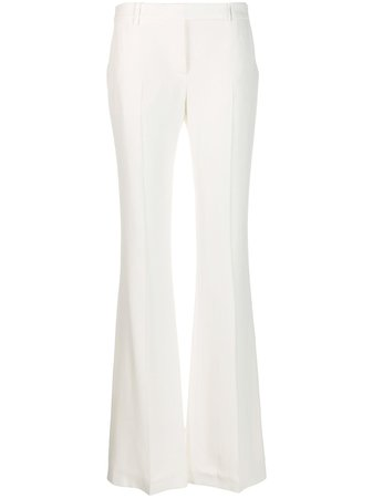 Alexander McQueen Flared Tailored Trousers - Farfetch