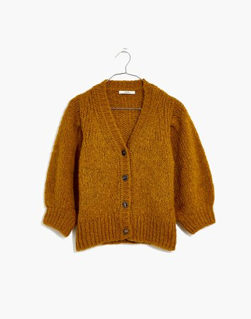Sessun Haylie Short-Sleeve Cardigan Sweater