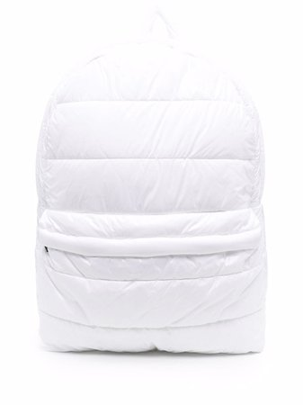 K-Way R&D quilted zipped backpack - FARFETCH