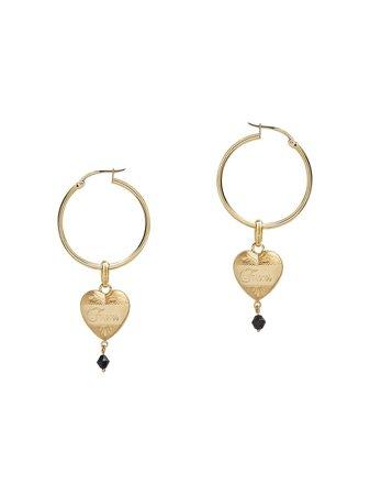 Dolce & Gabbana Heart Pendant Earrings - Farfetch