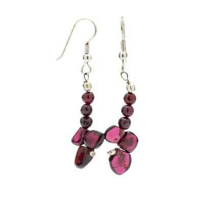 Garnet Gemstone Earrings | Mystic Self LLC