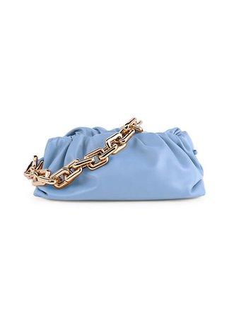 Bottega Veneta Medium The Chain Pouch Leather Clutch | SaksFifthAvenue