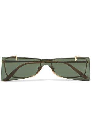 Gucci | Cat-eye gold-tone sunglasses | NET-A-PORTER.COM