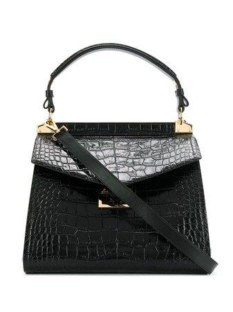 Givenchy Medium Mystic Crocodile-Effect Tote Bag BB50A2B0LK Black   Farfetch
