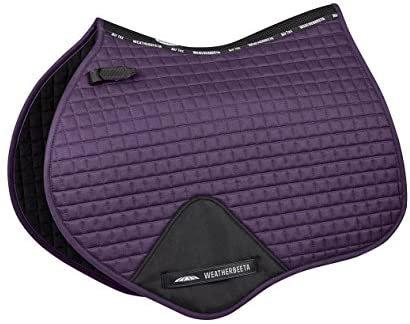 Amazon.com : Weatherbeeta Prime Jump Shaped Saddle Pad Denim Full : Sports & Outdoors