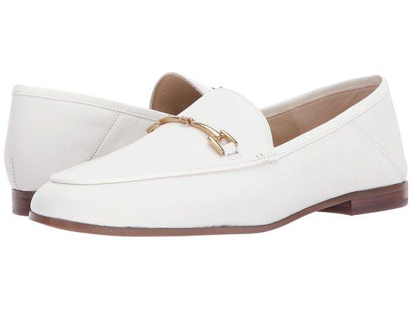 Sam Edelman - Loraine (Bright White Modena Calf Leather) Women's Dress Sandals