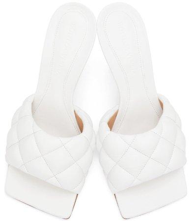 Bottega Veneta White Heels