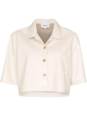 Nanushka Rhett short-sleeved Shirt - Farfetch