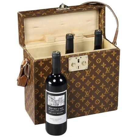 NOT BAD — tomfordvelvetorchid: Louis Vuitton Wine Bottle...