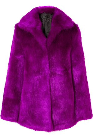 RtA | Kate faux fur coat | NET-A-PORTER.COM