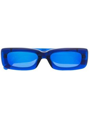 Linda Farrow The Attico Marfa sunglasses blue ATTICO16C3SUN - Farfetch