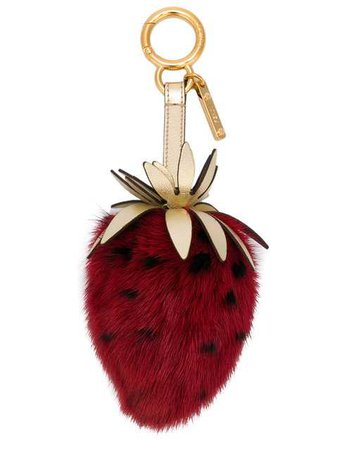 Fendi Strawberry Key Ring $770 - Shop AW18 Online - Fast Delivery, Price