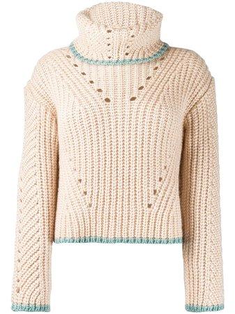 Fendi Chunky Knit Sweater - Farfetch