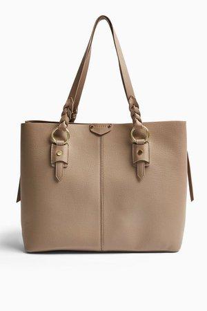 TRIP Plaited Tote Bag | Topshop