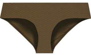 Ribbed Low-rise Bikini Briefs