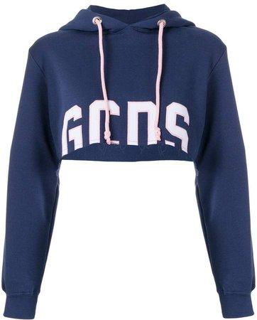 Gcds cropped hoodie